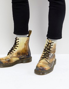 Ботинки с 8 люверсами Dr.Martens William Turner - Черный