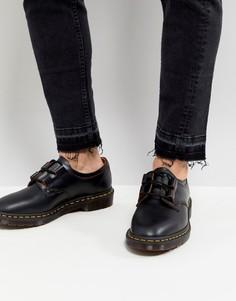 Черные туфли Dr Martens Archive Ghillie - Черный