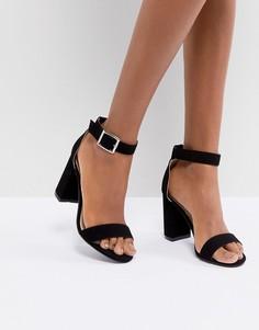 Босоножки на каблуке Pimkie - Черный