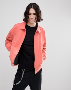 Розовая куртка Харрингтон Herschel Supply Co Mod - Розовый