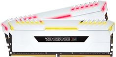 Модуль памяти CORSAIR Vengeance RGB CMR16GX4M2C3000C15W DDR4 - 2x 8Гб 3000, DIMM, Ret