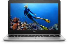 "Ноутбук DELL Inspiron 5570, 15.6"", Intel Core i5 8250U 1.6ГГц, 8Гб, 1000Гб, AMD Radeon 530 - 4096 Мб, DVD-RW, Linux, 5570-5372, серебристый"