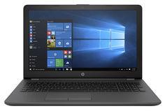 "Ноутбук HP 250 G6, 15.6"", Intel Celeron N3350 1.1ГГц, 4Гб, 500Гб, Intel HD Graphics 500, DVD-RW, Windows 10 Home, 2SX52EA, темно-серебристый"