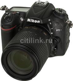 Зеркальный фотоаппарат NIKON D7200 kit ( 18-105mm f/3.5-5.6G VR), черный