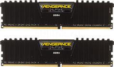Модуль памяти CORSAIR Vengeance LPX CMK8GX4M2A2400C14 DDR4 - 2x 4Гб 2400, DIMM, Ret