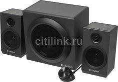 Колонки LOGITECH Z333, черный [980-001202]