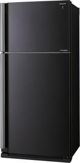 Холодильник SHARP SJ-XE55PMBK, двухкамерный, черный