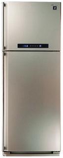 Холодильник SHARP SJ-PC58ACH, двухкамерный, шампань