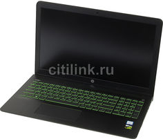 "Ноутбук HP Pavilion 15-cb012ur, 15.6"", Intel Core i5 7300HQ 2.5ГГц, 6Гб, 1000Гб, 128Гб SSD, nVidia GeForce GTX 1050 - 2048 Мб, Windows 10, 2CM40EA, черный"