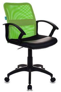 Кресло БЮРОКРАТ CH-590, на колесиках, искусственная кожа, салатовый [ch-590/sd/black]