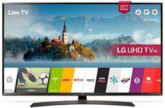 "LED телевизор LG 60UJ634V ""R"", 60"", Ultra HD 4K (2160p), черный/ коричневый"