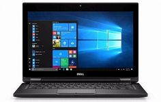 "Ноутбук-трансформер DELL Latitude 5289, 12.5"", Intel Core i3 7100U 2.4ГГц, 4Гб, 256Гб SSD, Intel HD Graphics 620, Windows 10 Professional, 5289-7864, черный"