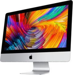 Моноблок APPLE iMac MNE02RU/A, Intel Core i5 7500, 8Гб, 1000Гб, AMD Radeon Pro 560 - 4096 Мб, Mac OS, серебристый и черный