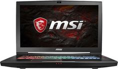 """Ноутбук MSI GT73EVR 7RF(Titan Pro)-1014RU, 17.3"""", Intel Core i7 7700HQ 2.8ГГц, 16Гб, 1000Гб, 128Гб SSD, nVidia GeForce GTX 1080 - 8192 Мб, Windows 10, 9S7-17A121-1014, черный"""