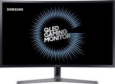 """Монитор ЖК SAMSUNG C27HG70QQI 26.9"""", черный [lc27hg70qqixci]"""