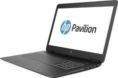 "Ноутбук HP Pavilion Gaming 17-ab317ur, 17.3"", Intel Core i5 7300HQ 2.5ГГц, 8Гб, 1000Гб, 128Гб SSD, nVidia GeForce GTX 1050Ti - 4096 Мб, DVD-RW, Windows 10, 2PQ53EA, черный"