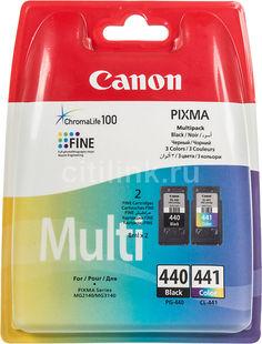 Двойная упаковка картриджей CANON PG-440/CL-441 черный / трехцветный [5219b005]