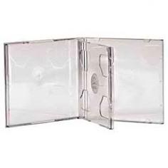 Коробка HAMA H-44752, 5шт., прозрачный, для 2 дисков [00044752]