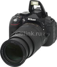 Зеркальный фотоаппарат NIKON D5300 kit ( AF-S DX NIKKOR 18-140mm f/3.5-5.6G ED VR), черный