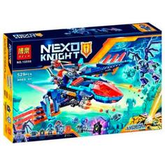 Конструктор Bela Nexo Knight Самолёт-истребитель Сокол Клэя 529 дет. 10596