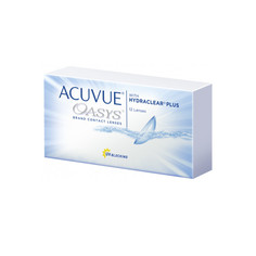 Контактные линзы Johnson & Johnson Acuvue Oasys with Hydraclear Plus (12 линз / 8.4 / -0.75)