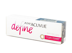 Контактные линзы Johnson & Johnson 1-Day Acuvue Define (30 линз / 8.5 / -4.25) Natural Shimmer