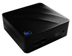 Настольный компьютер MSI Cubi N-060XRU Black 9S6-B12011-060 (Intel Celeron N3060 1.6 GHz/4096Mb/64Gb SSD/Intel HD Graphics/Wi-Fi/Bluetooth/DOS)