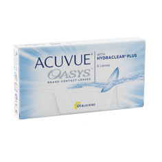 Контактные линзы Johnson & Johnson Acuvue Oasys with Hydraclear Plus (6 линз / 8.4 / -7)