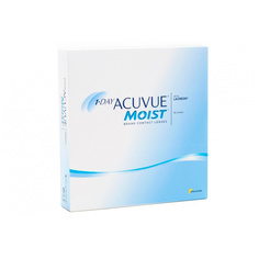 Контактные линзы Johnson & Johnson 1-Day Acuvue Moist (90 линз / 8.5 / -8)