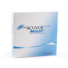 Контактные линзы Johnson & Johnson 1-Day Acuvue Moist (90 линз / 8.5 / -4.25)