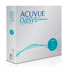 Контактные линзы Johnson & Johnson 1-Day Acuvue Oasys with HydraLuxe (90 линз / 8.5 / -8)
