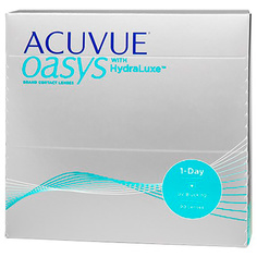 Контактные линзы Johnson & Johnson 1-Day Acuvue Oasys with HydraLuxe (90 линз / 8.5 / -2)