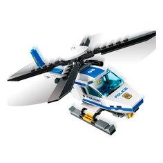 Конструктор GUDI Полиция- Вертолет 111 дет. 9308