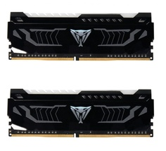 Модуль памяти Patriot Memory Viper LED DDR4 DIMM 2400Mhz PC4-19200 CL14 - 16Gb KIT (2x8Gb) PVLW416G240C4K