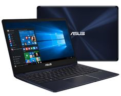 Ноутбук ASUS Zenbook UX331UN-EG002T 90NB0GY1-M01930 (Intel Core i7-8550U 1.8 GHz/8192Mb/512Gb SSD/No ODD/nVidia GeForce MX150 2048Mb/Wi-Fi/Bluetooth/Cam/13.3/1920x1080/Windows 10 64-bit)