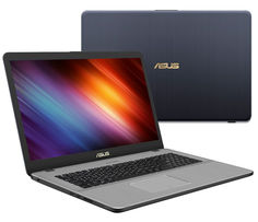 Ноутбук ASUS VivoBook Pro 17 N705UD-GC072 90NB0GA1-M02100 (Intel Core i7-8550U 1.8 GHz/8192Mb/1000Gb/No ODD/nVidia GeForce GTX 1050 2048Mb/Wi-Fi/Bluetooth/Cam/17.3/1920x1080/Endless)