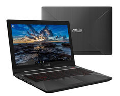 Ноутбук ASUS ROG FX503VD 90NR0GN1-M05700 (Intel Core i5-7300HQ 2.5 GHz/8192Mb/1000Gb/No ODD/nVidia GeForce GTX 1050 4096Mb/Wi-Fi/Cam/15.6/1920x1080/DOS)