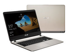 Ноутбук ASUS X507UA-BQ072T 90NB0HI2-M00960 (Intel Core i3-6006U 2.0 GHz/4096Mb/1000Gb/No ODD/Intel HD Graphics/Wi-Fi/Bluetooth/Cam/15.6/1920x1080/Windows 10 64-bit)
