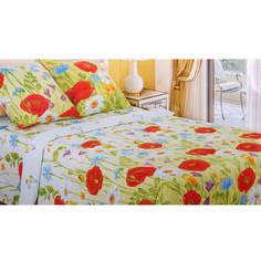 Постельное белье Этель Русское поле Комплект 1.5 спальный Бязь 1292993