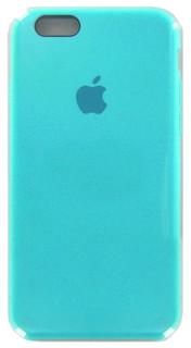 Аксессуар Чехол Krutoff для APPLE iPhone 6 / 6S Silicone Case Sea Blue 10769
