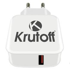 Зарядное устройство Krutoff CH-06 1xUSB 3A