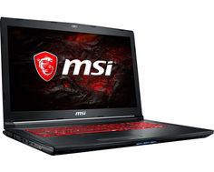 Ноутбук MSI GL72M 7RDX-1484XRU 9S7-1799E5-1484 (Intel Core i7-7700HQ 2.8 GHz/8192Mb/1000Gb + 128Gb SSD/No ODD/nVidia GeForce GTX 1050 2048Mb/Wi-Fi/Bluetooth/Cam/17.3/1920x1080/DOS)