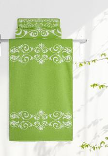 Полотенце Aquarelle Шарлиз 35x70cm White-Green 705998