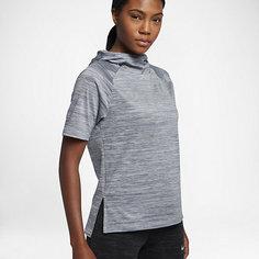 Женская беговая худи с коротким рукавом Nike Therma