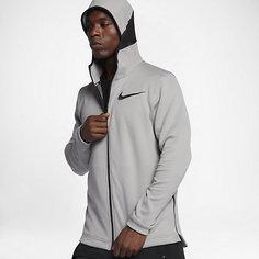 Мужская баскетбольная худи с молнией во всю длину Nike Therma Flex Showtime