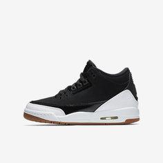 Кроссовки для школьников Air Jordan 3 Retro Nike