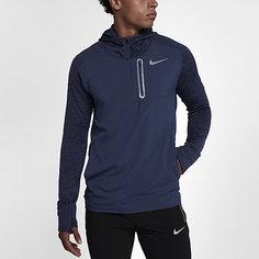 Мужская беговая худи с молнией до середины груди Nike Therma Sphere Element Hybrid