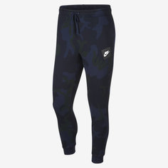 Мужские флисовые джоггеры с камуфляжным принтом Nike Sportswear Club