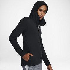 Женская баскетбольная худи с молнией во всю длину Nike Dri-FIT Showtime