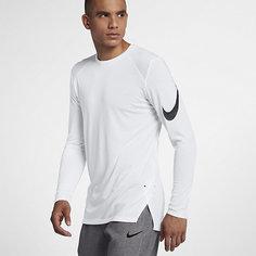 Мужская баскетбольная футболка с длинным рукавом Nike Breathe Elite
